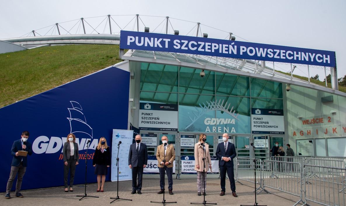 Gdynia Arena. Kolejny na Pomorzu punkt szczepień powszechnych już otwarty
