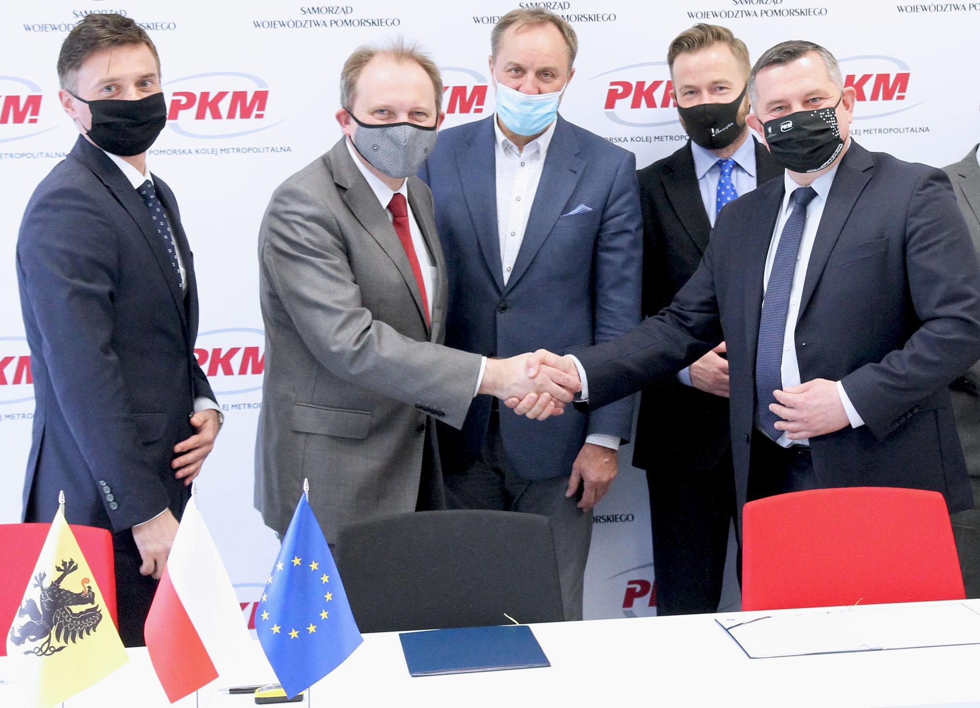 Umowa na elektryfikację PKM podpisana. Powstanie też nowy przystanek Firoga