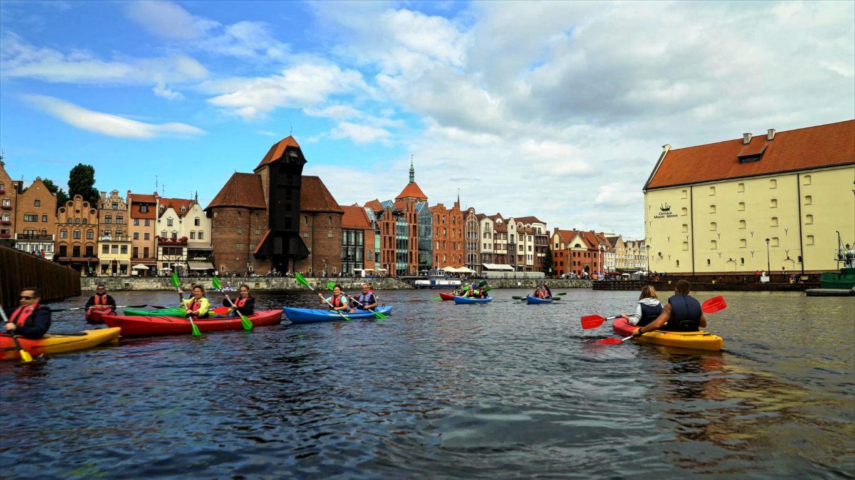 Posprzątaj Motławę i poznaj Gdańsk od strony wody. Akcja ekoKajak trwa