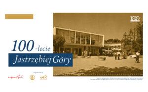 Baner uroczystości 100-lecia powstania Jastrzębiej Góry