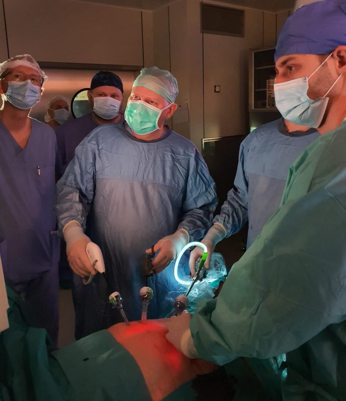 Słupsk. Laparoskopowe zabiegi u chorych na raka żołądka. Pierwsi pacjenci już po operacjach