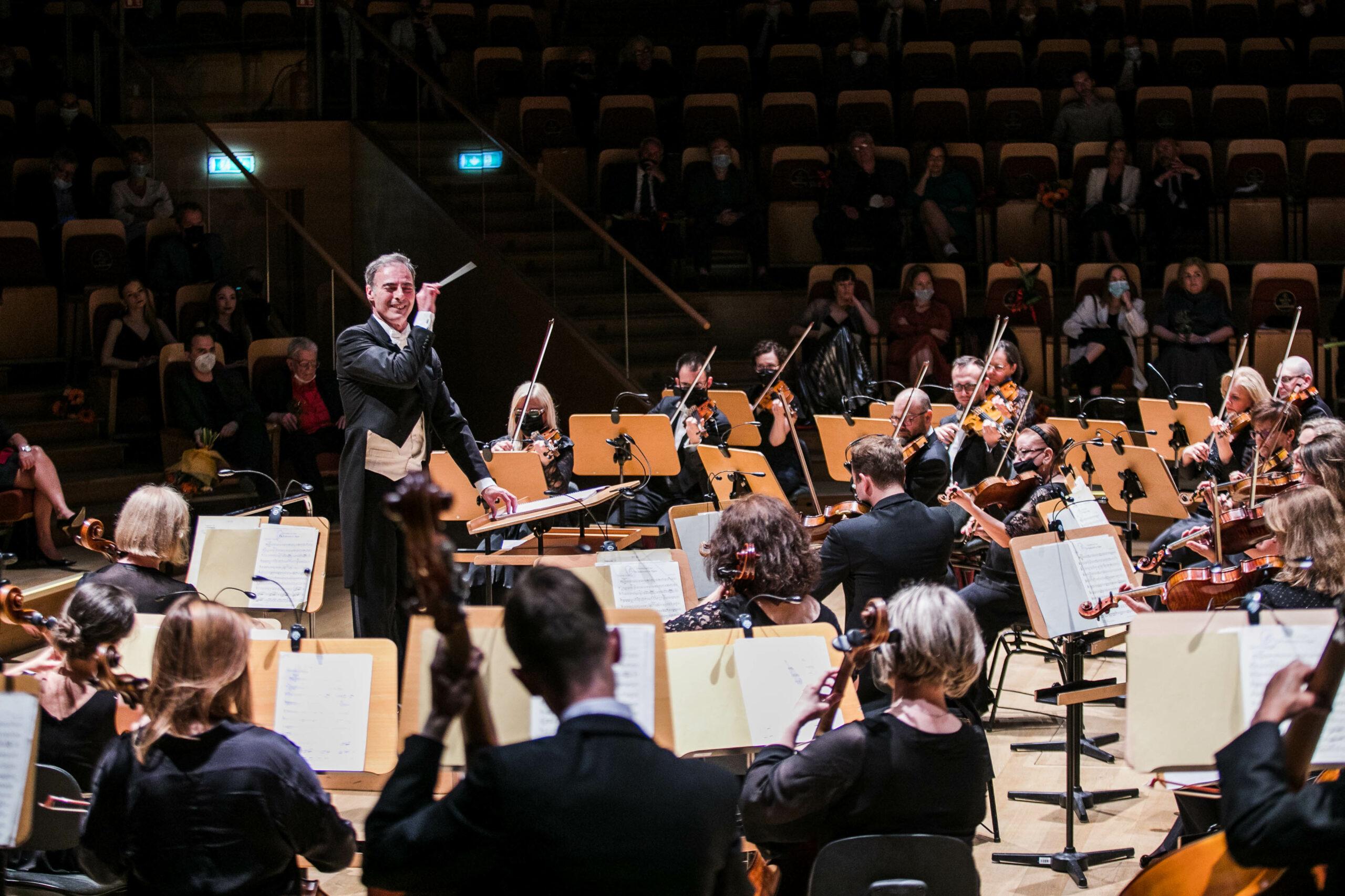 Koncert symfoniczny podczas gali PNA 2020
