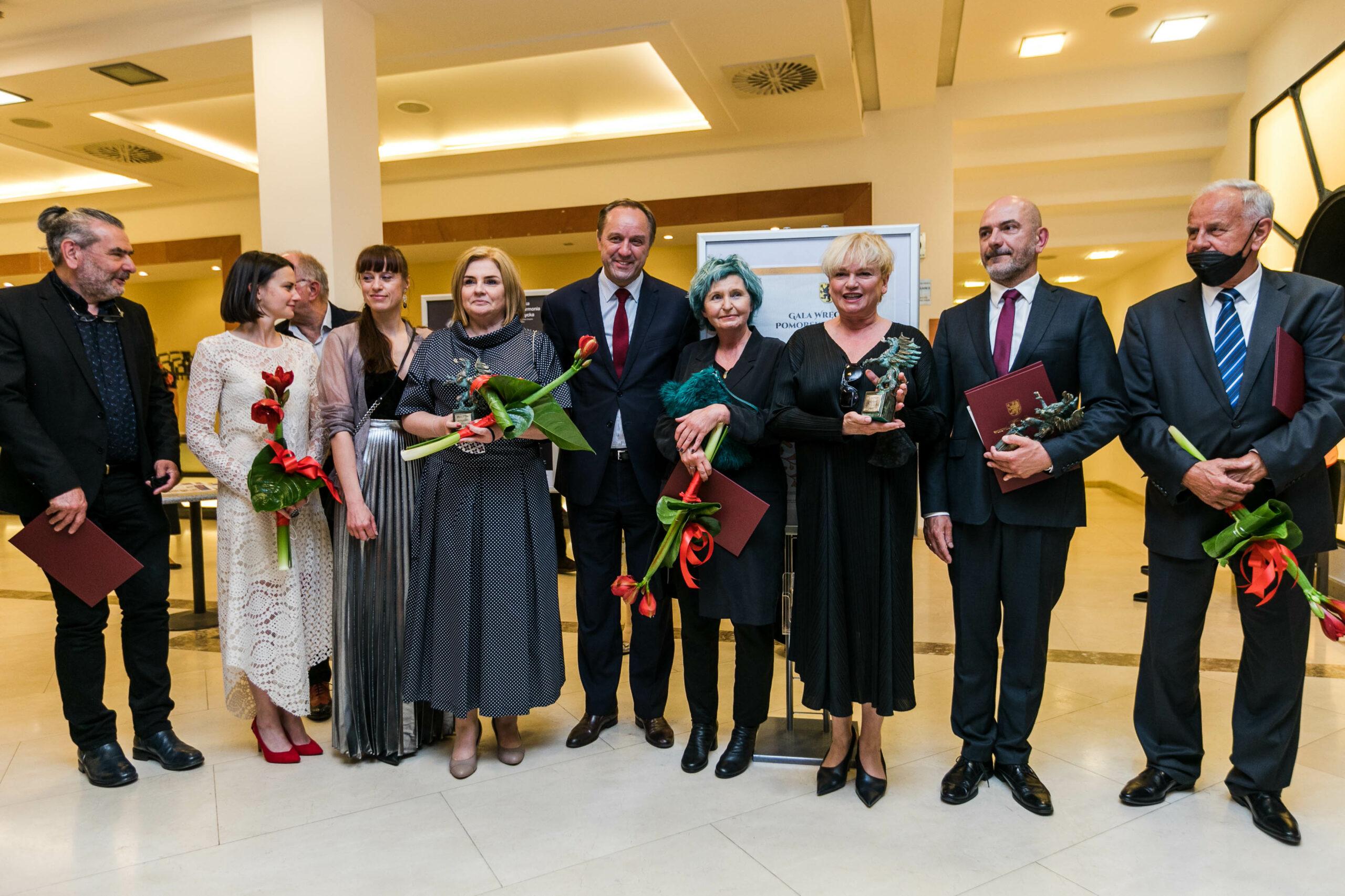 Pomorskie Nagrody Artystyczne wręczone! Znamy laureatów nagród marszałka