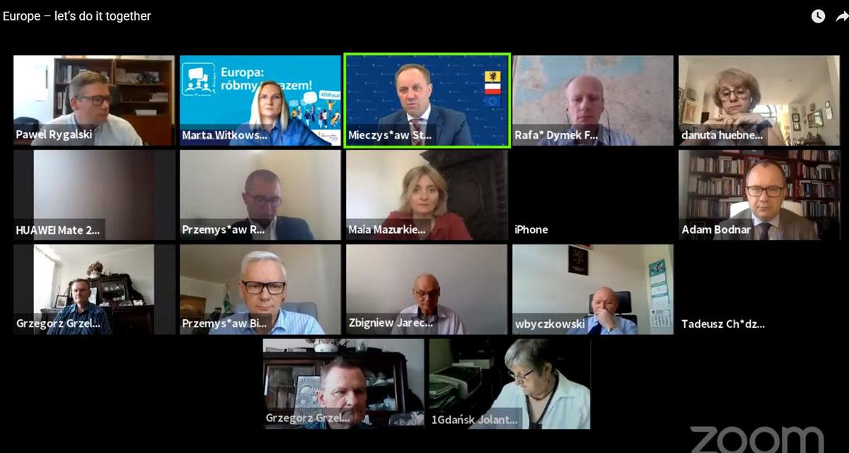"""Pomorzanie rozmawiali o przyszłości Europy. Debata obywatelska """"Europa – róbmy to razem"""""""
