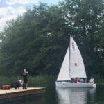 Łódka nad jeziorem Brodno Wielkie Fot. Katarzyna Piotrowska-Turnowiecka