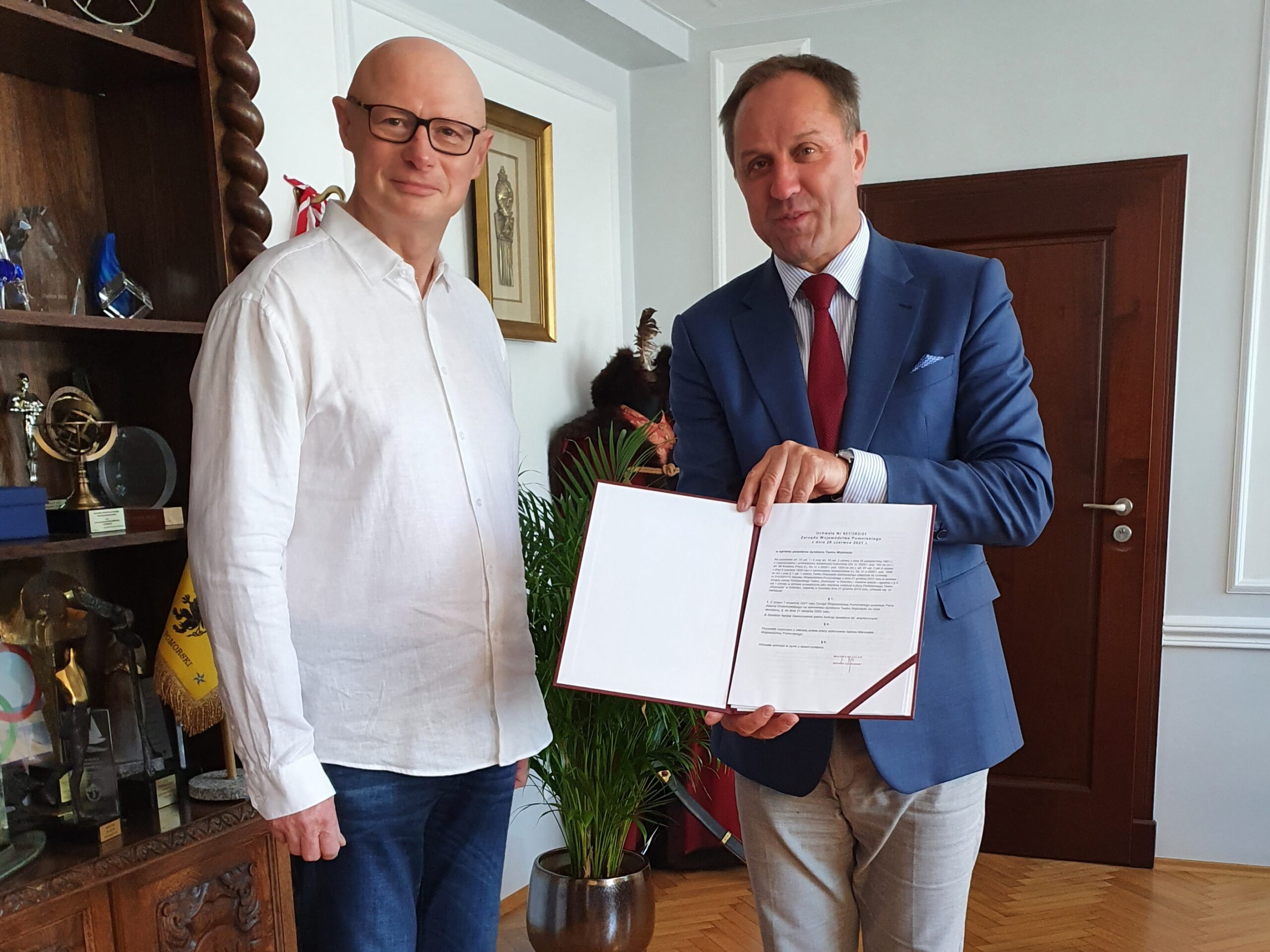 Nowa kadencja Adama Orzechowskiego. Przez kolejne pięć lat będzie dyrektorem Teatru Wybrzeże