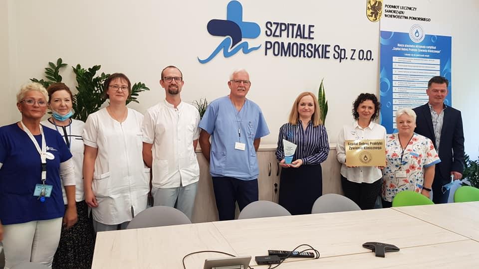 Leczenie przez żywienie Szpital Morski im. PCK w Gdynia z certyfikatem