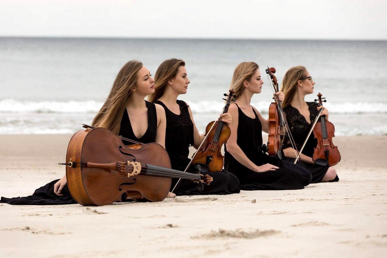 VI edycja Garden Party u Karola w słupskim parku. Koncert Golden Gate String Quartet
