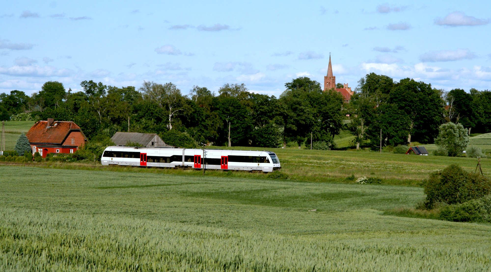 Na kolejową mapę Pomorza wraca Kwidzyn. Zmodernizowanymi torami pojedzie 9 par pociągów