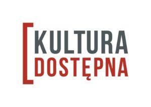 logotyp projektu Kultura dostępna