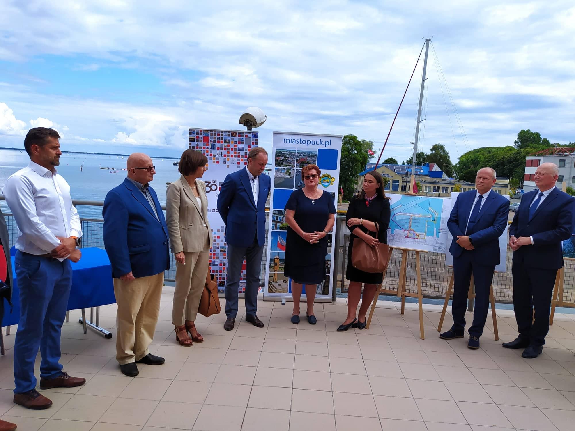 Puck. Dzięki unijnemu wsparciu w porcie powstanie prawie sto miejsc dla jachtów