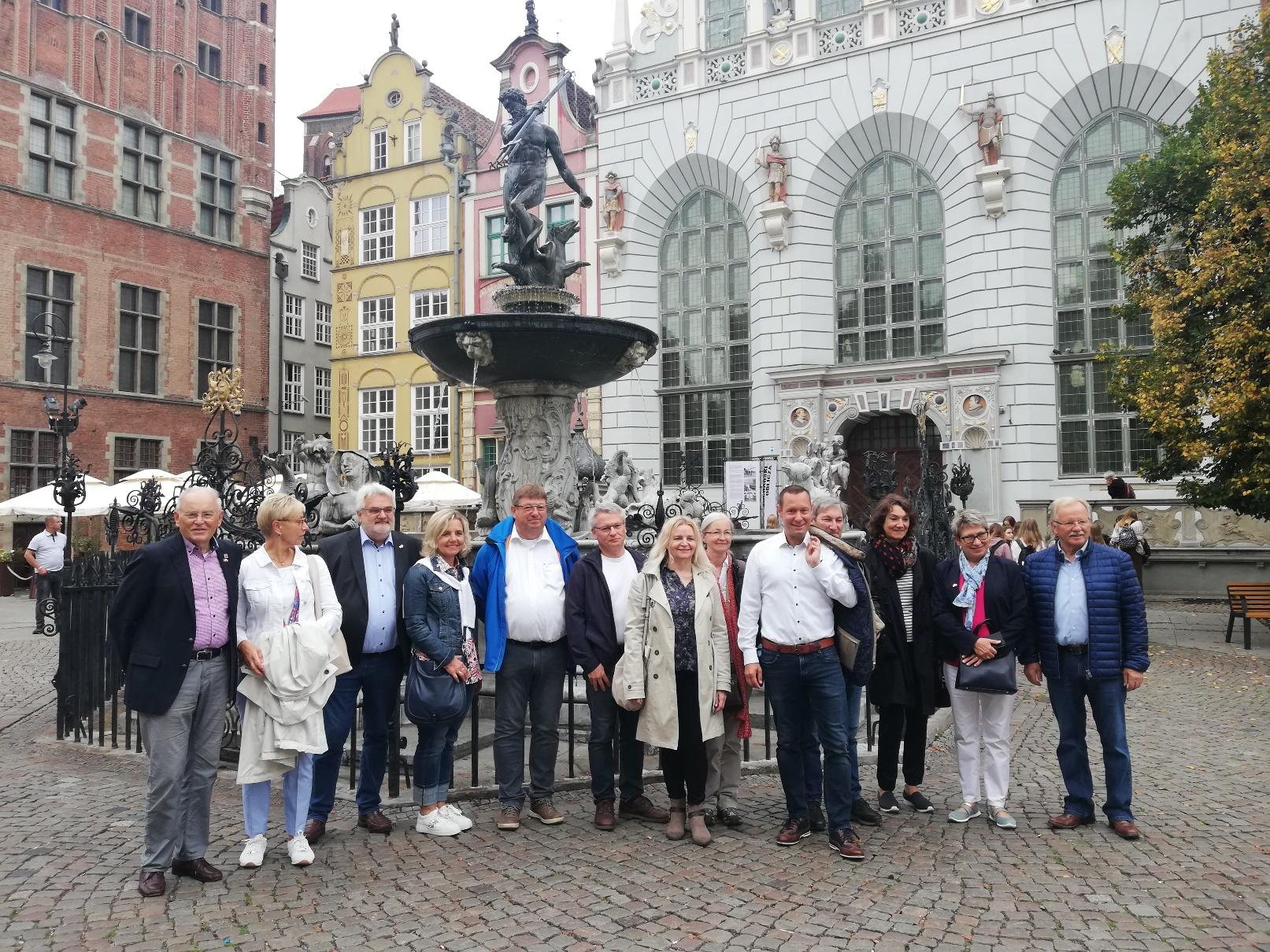 Uroczyste obchody 20-lecia partnerstwa województwa pomorskiego i Środkowej Frankonii