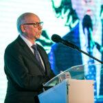 Europoseł Janusz Lewandowski podczas konferencji Fundusze Europejskie dla Pomorza. Fot. Karol Stańczak