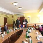 Minister Rainer Robla i marszałek Mieczysław Struk. Fot. Dorota Kulka