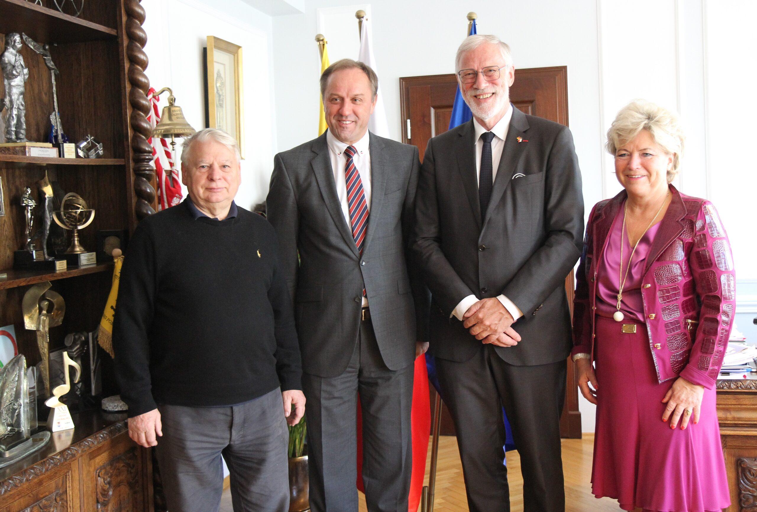 Minister Robra z Saksonii Anhalt z wizytą na Pomorzu. O czym rozmawiał z marszałkiem?
