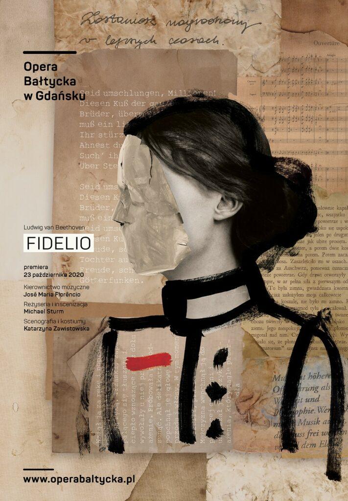 Fidelio, plakat. Fot. mat. prasowe Opery Bałtyckiej w Gdańsku