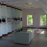 Ogólny widok wyróżnionej wystawy stałej w Książnicy Gerarda Labudy