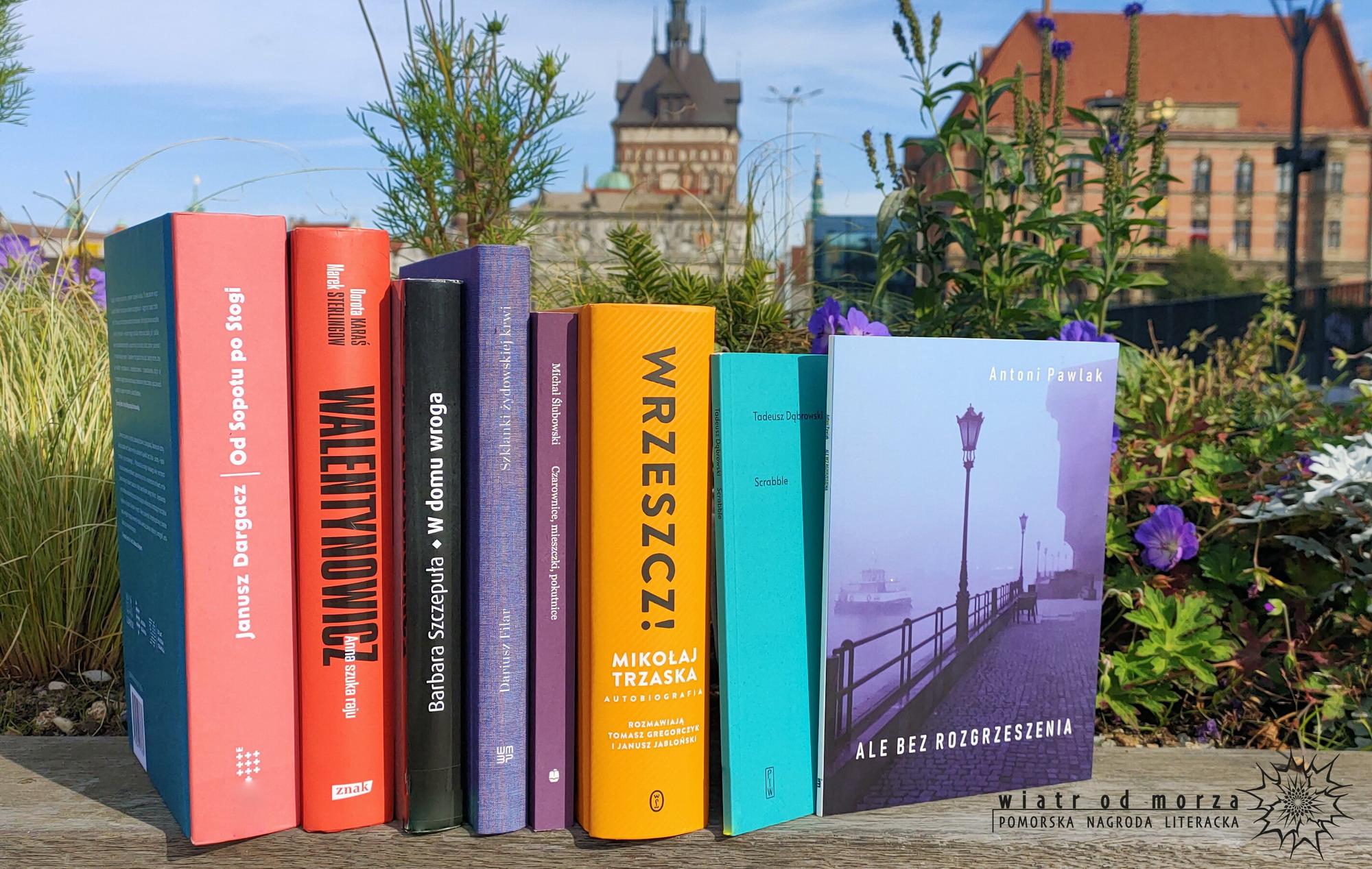 Wiersze, powieść czy reportaż? Kto jest nominowany do nagrody literackiej Wiatr od Morza