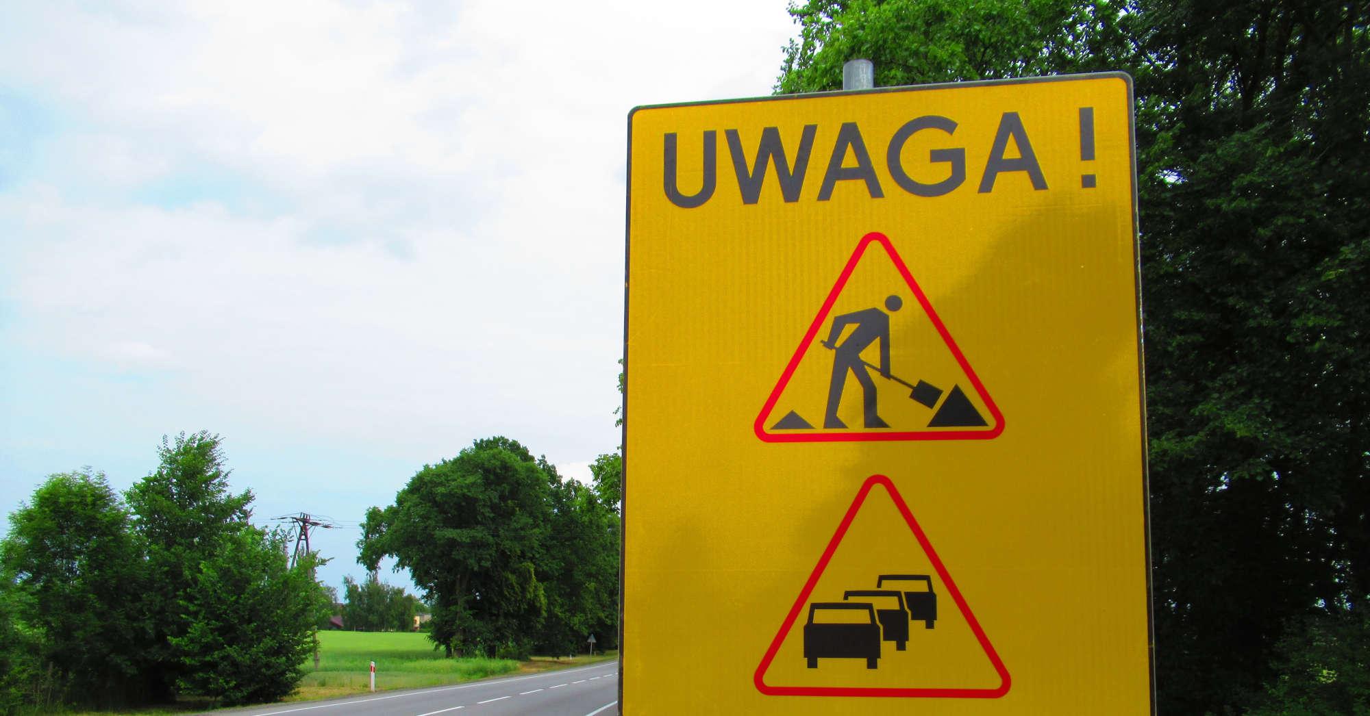 Bezpieczniej na drodze. W Starogardzie Gdańskim i Starej Kiszewie będą remonty dróg wojewódzkich