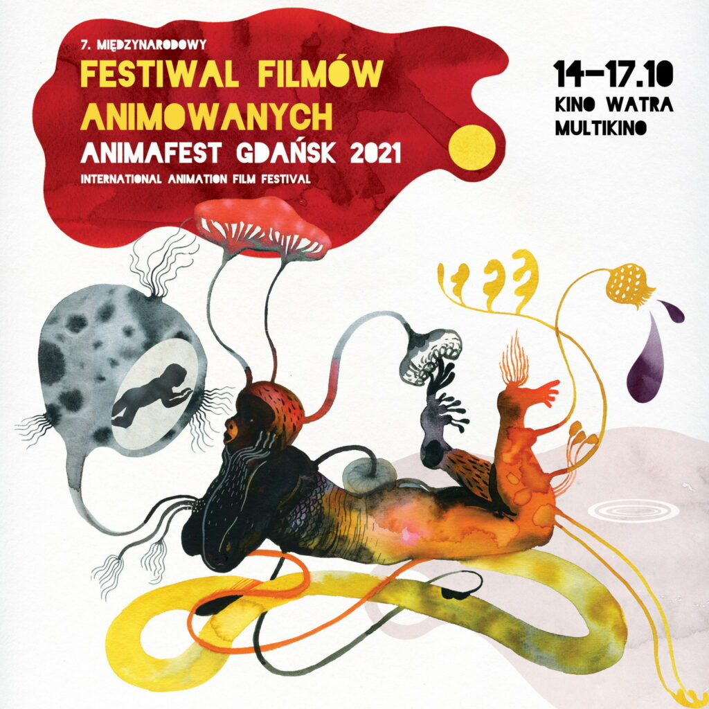Animafest 2021, plakat. Fot. mat. prasowe festiwalu